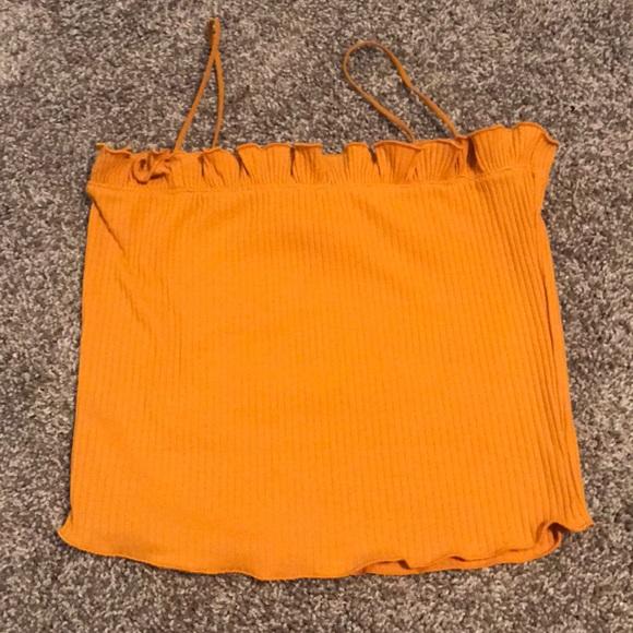 921138596dd Orange tube top